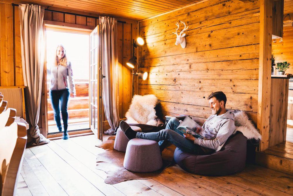 Hoiz Alm Wohnzimmer Lounge