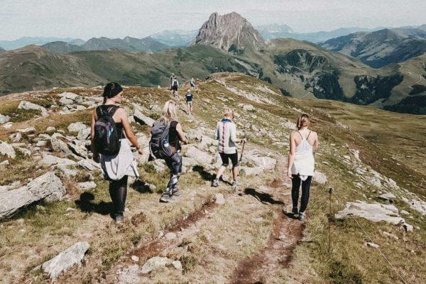 Hoiz Alm Ausflüge Wandern Sommer Wildkogel
