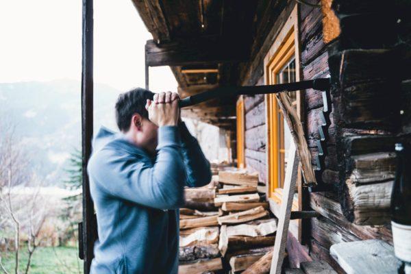 Hoiz Alm Huette mieten Österreich Hohe Tauern Outdoor Holz