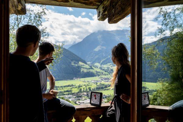 Hoiz Alm Huette mieten Österreich Hohe Tauern Team Offsite Team Event Workshop