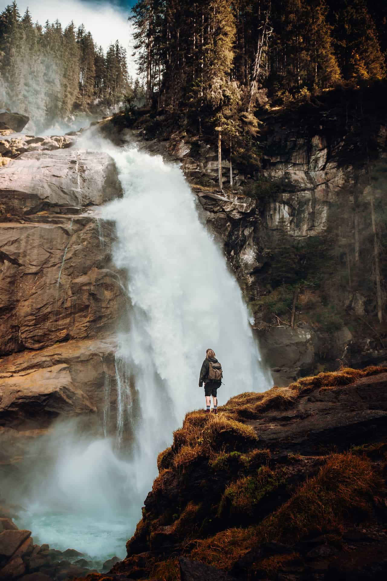 Hüttenurlaub im Sommer: Krimmler Wasserfälle